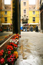 Little street in Venice Royalty Free Stock Photography