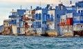 Little Venice, Mykonos Royalty Free Stock Photo