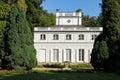 The Little White House. Lazienki Park. Warsaw. Poland. Royalty Free Stock Photo