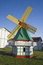 Little windmill in Elk Horn Royalty Free Stock Images