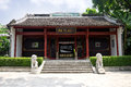 The liuhou memorial temple liuzhou china park is located at city guangxi zhuang autonomous region it is constructed in to Royalty Free Stock Photo