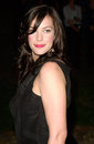 Liv tyler actress at party in cannes to promote her new movie the lord of the rings the party was held in the medieval chateau de Royalty Free Stock Photo