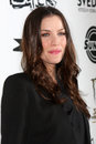 Liv tyler los angeles mar arriving at the super premiere at egyptian theater on march in los angeles ca Royalty Free Stock Photos