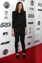 Liv tyler los angeles mar arriving at the super premiere at egyptian theater on march in los angeles ca Stock Photo