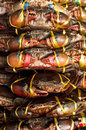 Live Crabs ready to be cooked Royalty Free Stock Photos