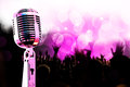 Live music background. Royalty Free Stock Photo