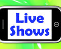 Live Shows Performance Music Songs Or Talent Royalty Free Stock Photos