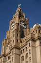 The Liver Building Royalty Free Stock Photo