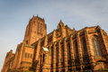 Liverpool anglican cathedral the st james mount Royalty Free Stock Photos