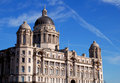 Liverpool Architechture Royalty Free Stock Photo