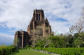 Liverpool cathedral in blue sky Stock Images
