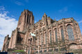 Liverpool cathedral in blue sky Royalty Free Stock Photography