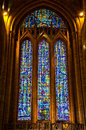 Liverpool cathedral from the inside Stock Photos