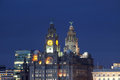 Liverpool City View Royalty Free Stock Photo