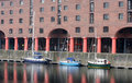 Liverpool docks (Albert Dock) Royalty Free Stock Images