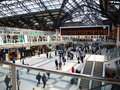 Liverpool london stationsgata Arkivbild