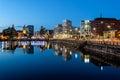 Liverpool skyline Royalty Free Stock Photo
