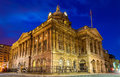 Liverpool Town Hall in the evening