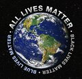 Lives matter message Royalty Free Stock Photo