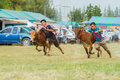Livestock show prachuapkhirikhan thailand december tradition cow racing on fair of competition the animals on december in pranburi Stock Photo
