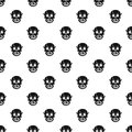 Living dead pattern vector Royalty Free Stock Photo