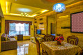Living room of deluxe suites this is the in a business hotel taken in chongqing city china Stock Photography