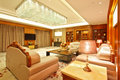 Living room of presidential suite the in a five star hotel Royalty Free Stock Photography