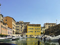 Livorno a very beautiful town in italy Royalty Free Stock Photo