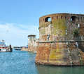 Livorno a very beautiful town in italy Royalty Free Stock Image
