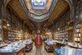 Livraria Lello, the famous bookshop in Porto, Portugal Royalty Free Stock Photo