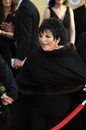 Liza minnelli los angeles ca january at the th annual screen actors guild awards at the shrine auditorium Royalty Free Stock Photography