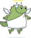 Lizard Angel Stock Photo