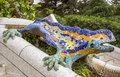 Lizard of Gaudi Royalty Free Stock Photo