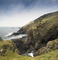 Lizard point the most southerly point in britain mainland Stock Photography