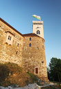 Ljubljana castle slovenia europe Royalty Free Stock Photography