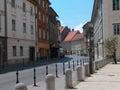 Ljubljana street Royalty Free Stock Photo