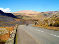 The Llanberis Pass Royalty Free Stock Images