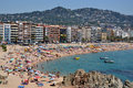 Lloret de Mar in Costa Brava, Catalonia, Spain Stock Photography