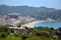 Lloret de Mar in Costa Brava, Catalonia, Spain Royalty Free Stock Images