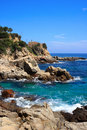 Lloret de Mar (Costa Brava, Spain) Stock Image