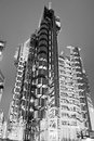 The lloyd s building also known as the inside out building london uk Royalty Free Stock Photos