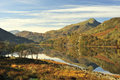 Llyn Gynant, Snowdonia, Wales Royalty Free Stock Photo
