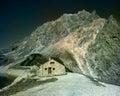Lünersee reservoir luenersee in austria alps Stock Photo