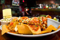 Loaded Nachos Royalty Free Stock Photo