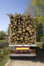 Loaded Timber Stock Photo