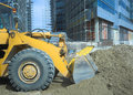 Loader heavy machine at work Royalty Free Stock Image