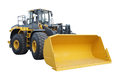 Loader under the white background Stock Photos