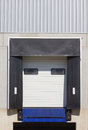 Loading dock cargo doors Stock Image