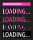 Loading progress bar
