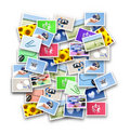 Loads of photographs Royalty Free Stock Photos